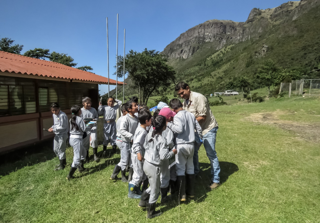 Workshops with the community in Cerro de Arcos