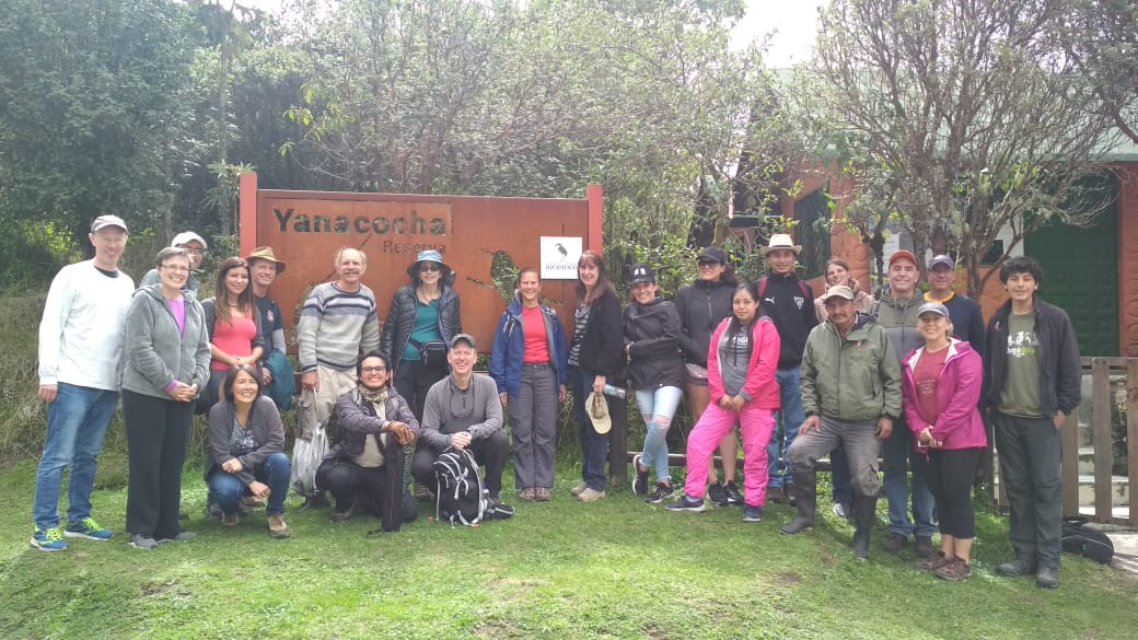 Visits to our Yanacocha Reserve